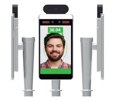 camaras termograficas - camara y pantalla